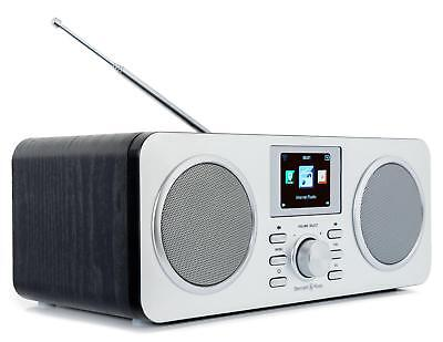 Portables Internet Radio WLAN Stereo Anlage LAN DAB+ UKW Tuner USB Bluetooth AUX