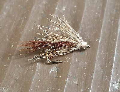 One dozen (12) Soft Hackle Pheasant Tail Nymph size 16 fishing flies - Fishing Soft Hackle Flies