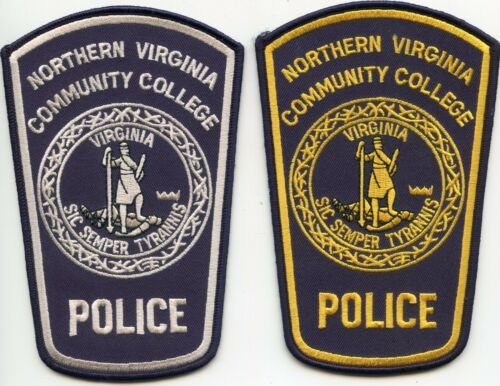 NORTHERN VIRGINIA COMMUNITY COLLEGE 2 Police Patches POLICE PATCH