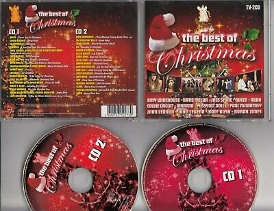 THE BEST OF CHRISTMAS 2-CD AMY WINEHOUSE QUEEN ABBA NORAH JONES KATIE (Amy Winehouse The Best)
