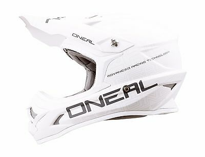 Oneal 3 Series Matte White Off Road Dirt Bike Racing Motocross -