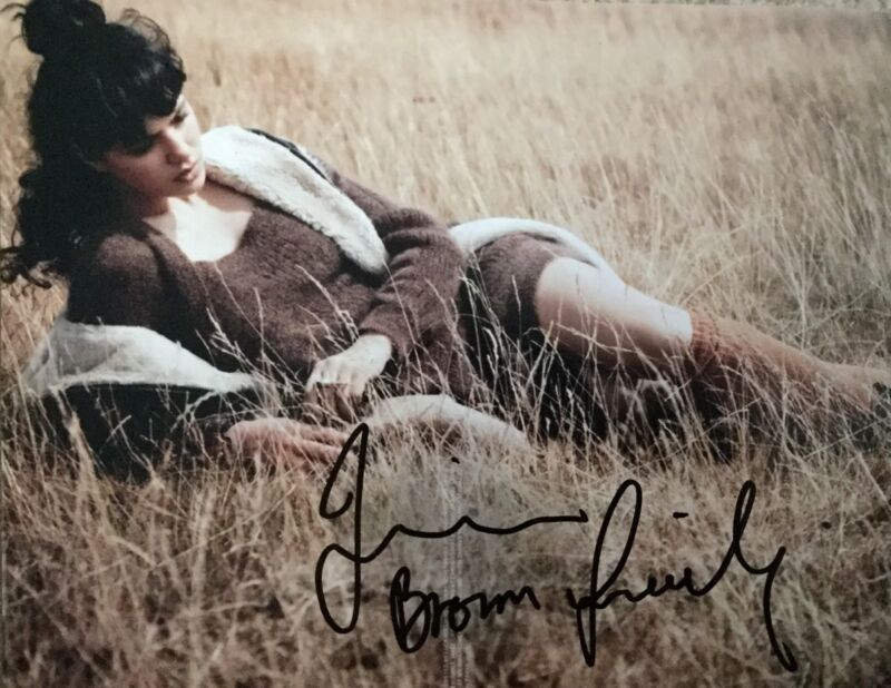 Jessica Brown Findlay SIGNED Autograph Image A 10x8 Photo AFTAL UACC Registered