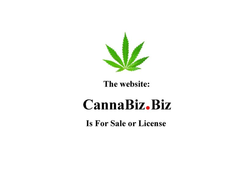 CannaBiz® website is FOR SALE > Hemp related products & services