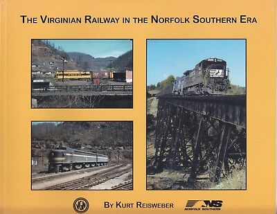Morning Sun Railroad Books Softcover-The Virginian Railway in the NS Era