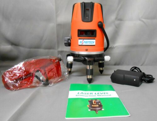Inspiritech Industrial Laser Level,Surveying & Mapping Class, 360° Rotary Base
