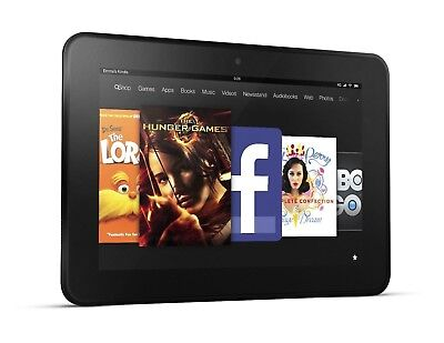 "Amazon Kindle Fire HD 8.9"" (2nd Gen) 3HT7G - 16GB, Wi-Fi, Black - B Grade"