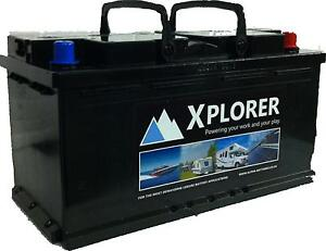12V Xplorer 110AH AGM Battery UItra Deep Cycle. 5 Year Warranty