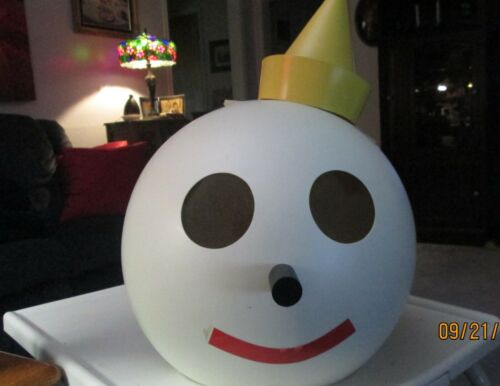 VINTAGE  GIANT JACK IN THE BOX HEAD Costume