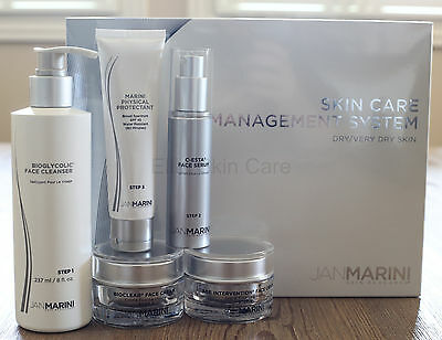 Jan Marini Skin Care Management System Kit SPF45 Dry to Very Dry New! FRESH! for sale  Shipping to Nigeria