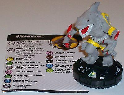 ARMAGGON #030 Teenage Mutant Ninja Turtles Series 2 HeroClix Super Rare