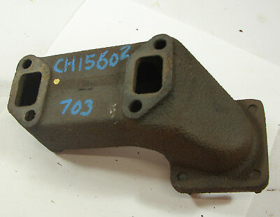 Ch15602 John Deere 650 Compact Tractor Exhaust Manifold