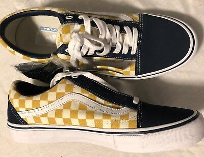 56244324186 Vans Old Skool Pro Checkerboard Dress Blues SZ 11 VN000ZD4Q40