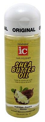 FANTASIA IC HAIR POLISHER 6 Ounce SHEA BUTTER OIL