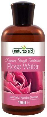 Natures Aid Triple Strength Rose Water, 150ml