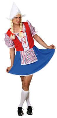 Holländerin Herren Kostüm Antje Kleid zu Karneval Fasching Travestie