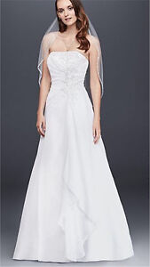Wedding Dress A Line NEW with Tags
