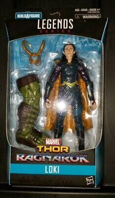 Marvel Legends Thor Ragnarok Loki with Gladiator Hulk BAF Leg!