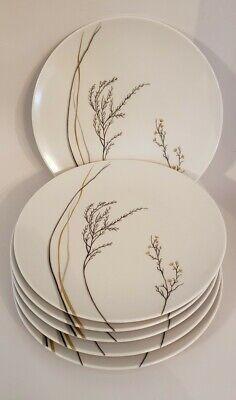 Set Of 6 Vintage Boonton Ware Melmac Plates Mid Century Modern Design