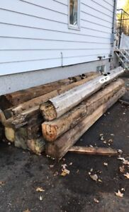 Beams antique wood