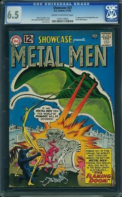 Showcase #37 CGC 6.5 DC 1962 1st Metal Men! SEE SCAN!! H6 103 cm clean