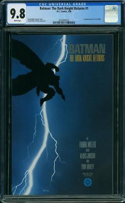 Batman: The Dark Knight #1 CGC 9.8 DC 1986 Frank Miller! New Case! WP H6 320 cm
