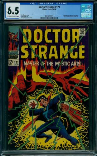 Doctor Strange 171 CGC 6.5 -- 1968 -- Dormammu Silver Surfer ad #2001875019