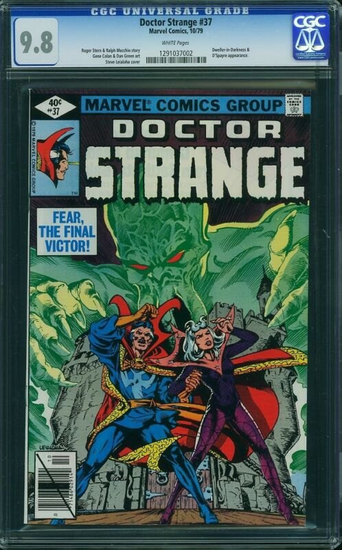 DOCTOR STRANGE #37 CGC 9.8 White Pages