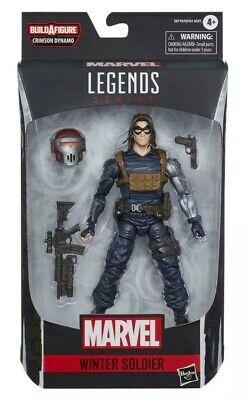 "Marvel Legends Black Widow WINTER SOLDIER 6"" Action Figure Crimson Dynamo BAF"