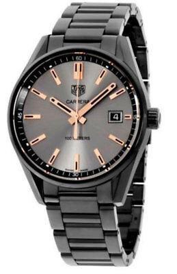 Tag Heuer Carrera Black Titanium 39mm Swiss Quartz Women's Watch WAR1113.BA0602