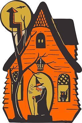 aufkleber sticker halloween auto motorrad deko macbook zuhause hexe kind feier - Halloween Hexe Kind