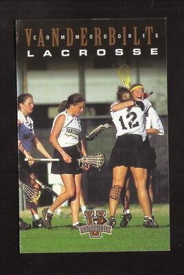 Vanderbilt Commodores  2000 Lacrosse Schedule  Courtyard Marriott