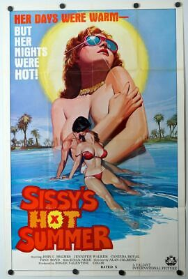 Adults Hot Movies (Sissy's Hot Summer - original movie poster 27x41 - John Holmes adult)