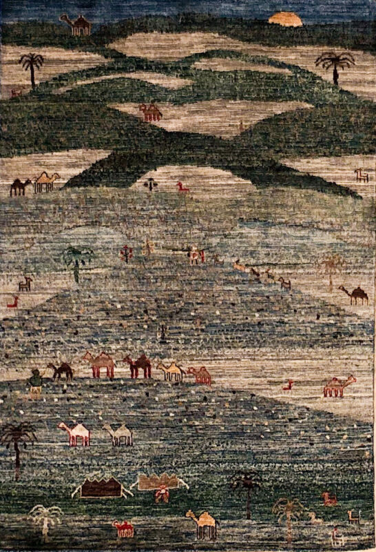 Hand-knotted Rug (Carpet) 3