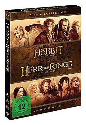 6' - Box (Mittelerde Collection DVD Box - NEU - 6 DVDs - Der Hobbit+Der Herr der Ringe Box)