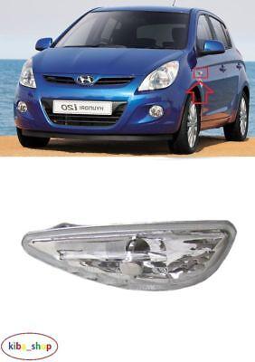 Hyundai i20 Mk.1 12-15 Left Hand N//S Passenger Side Clear Wing Mirror Indicator