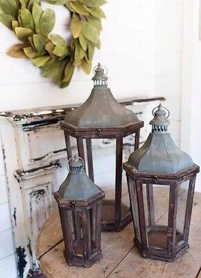 Porcelain Barn Lanterns Wedding Farmhouse Shabby Chic Park Hill Accumulation