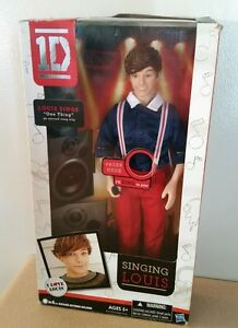 One Direction 1D Singing Louis  Doll