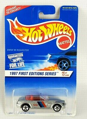 Hot Wheels 1997 First Editions Series BMW M Roadster #518 Sealed On Card