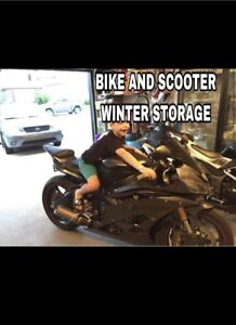 STORAGE - motorcycle, moped, small vehicles