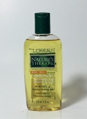 (1) Loreal Nature's Therapy Hot Oil Botanical Treatment For Dry Hair 4 Fl