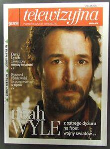 NOAH WYLE great polish mag.FRONT cover, Twin Peaks - europe, Polska - Zwroty są przyjmowane - europe, Polska