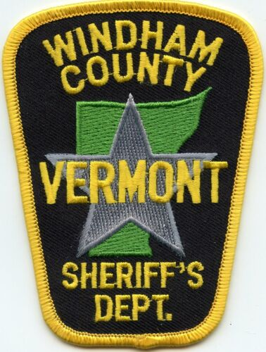 WINDHAM COUNTY VERMONT VT SHERIFF POLICE PATCH