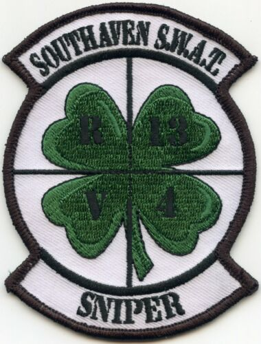 SOUTHAVEN MISSISSIPPI MS Special Weapons And Tactics SWAT SNIPER POLICE PATCH