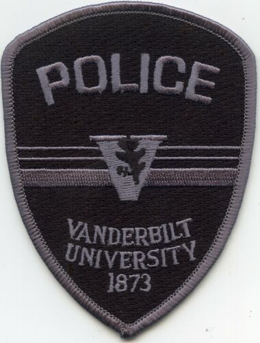 old style VANDERBILT UNIVERSITY TENNESSEE TN subdued POLICE PATCH