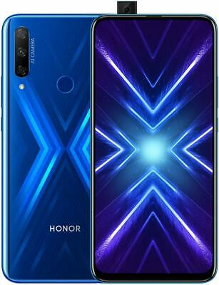Smartphone HONOR 9X Blue Blu 4/128 GB Android 9.0 Smartphone Triple-Telecamera