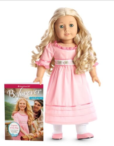 American Girl Caroline Doll New In Box with Welcome Accessories NIB Retired