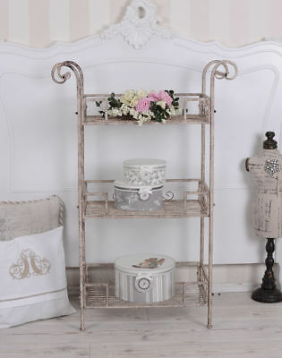 Vintage Shelf Trolley Cottage Coffee Table Shabby Chic Kitchen Shelf