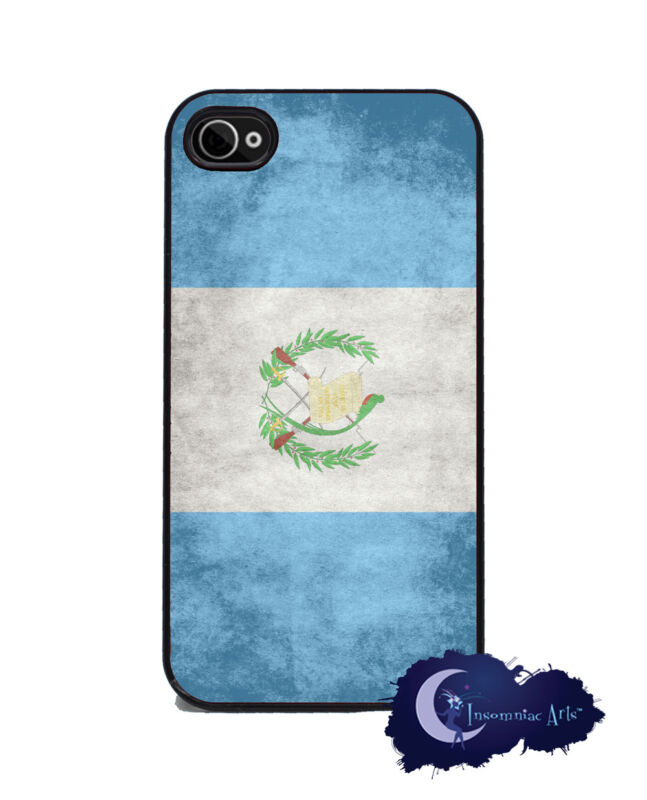 Guatemalan Flag - Case for iPhone 4 & 4s Silicone Rubber Cover, Guatemala