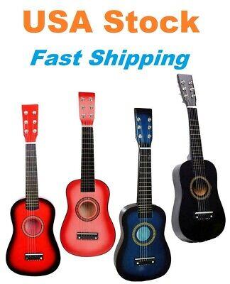 """Kids Guitar, Acoustic Guitar, Toy Guitar, Plywood Mini Guitar, 23"""", 6 String"""