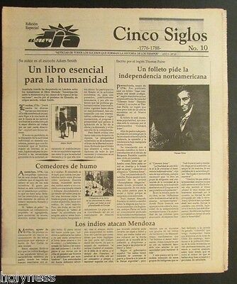 El Nuevo Dia    Vintage Newspaper   Cinco Siglos De Historia   10   Puerto Rico